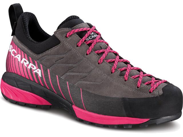 Scarpa W's Mescalito GTX Shoes titanium/rose red